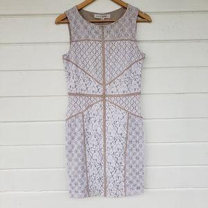 Lace Sheath Dress Maggie London Elegant Boho 10